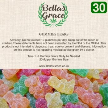 Bella's Grace Gummie Bears x 30