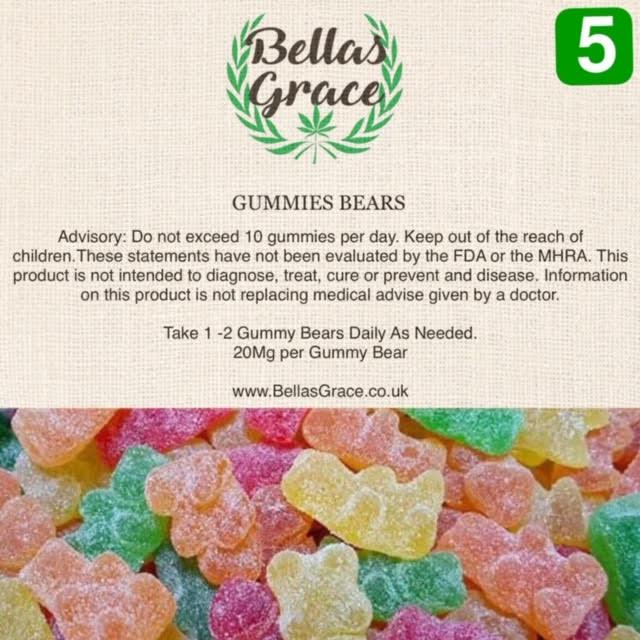 CBD Gummies – 20mg/Gummy