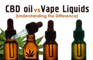 CVD oil Vs Vape Liquids
