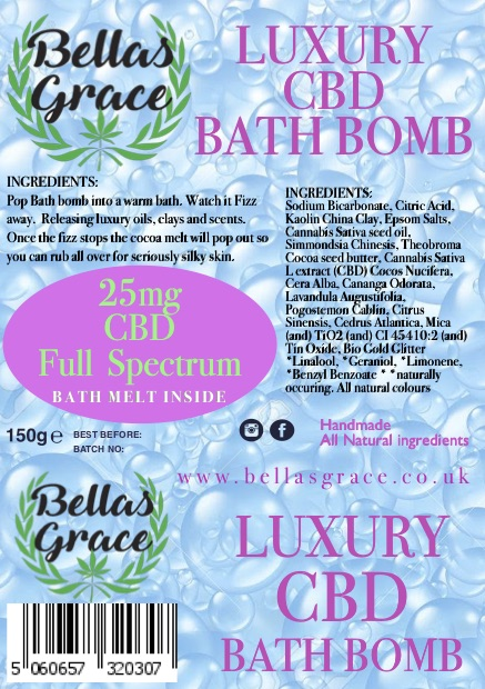CBD Bath Bombs 4