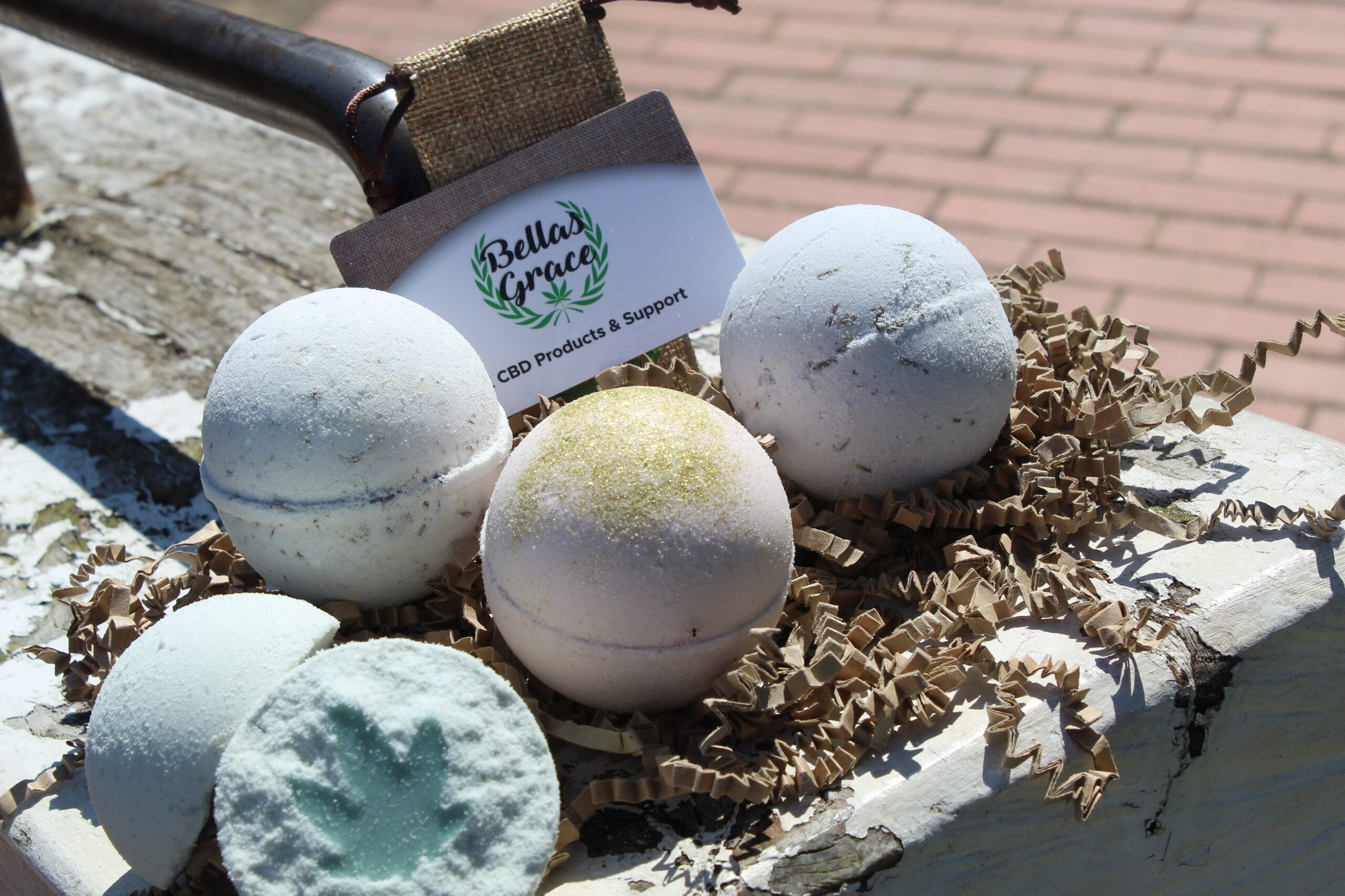 New CBD Bath Bombs