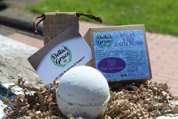 Bellas Grace CBD Bath Bomb Relax