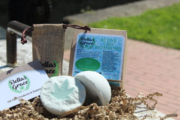 Bellas Grace CBD Bath Bomb Revive