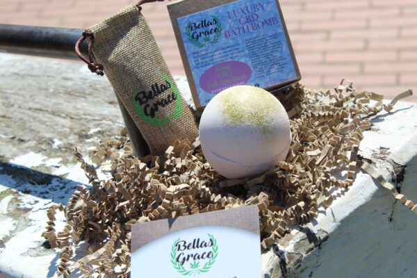 Bellas Grace CBD Bath Bomb Luxury