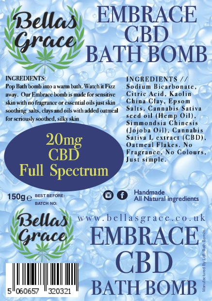 Bellas Grace Embrace Bath bomb