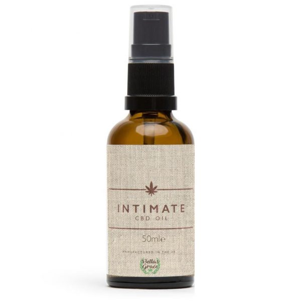 Intimate CBD Massage Oil 1