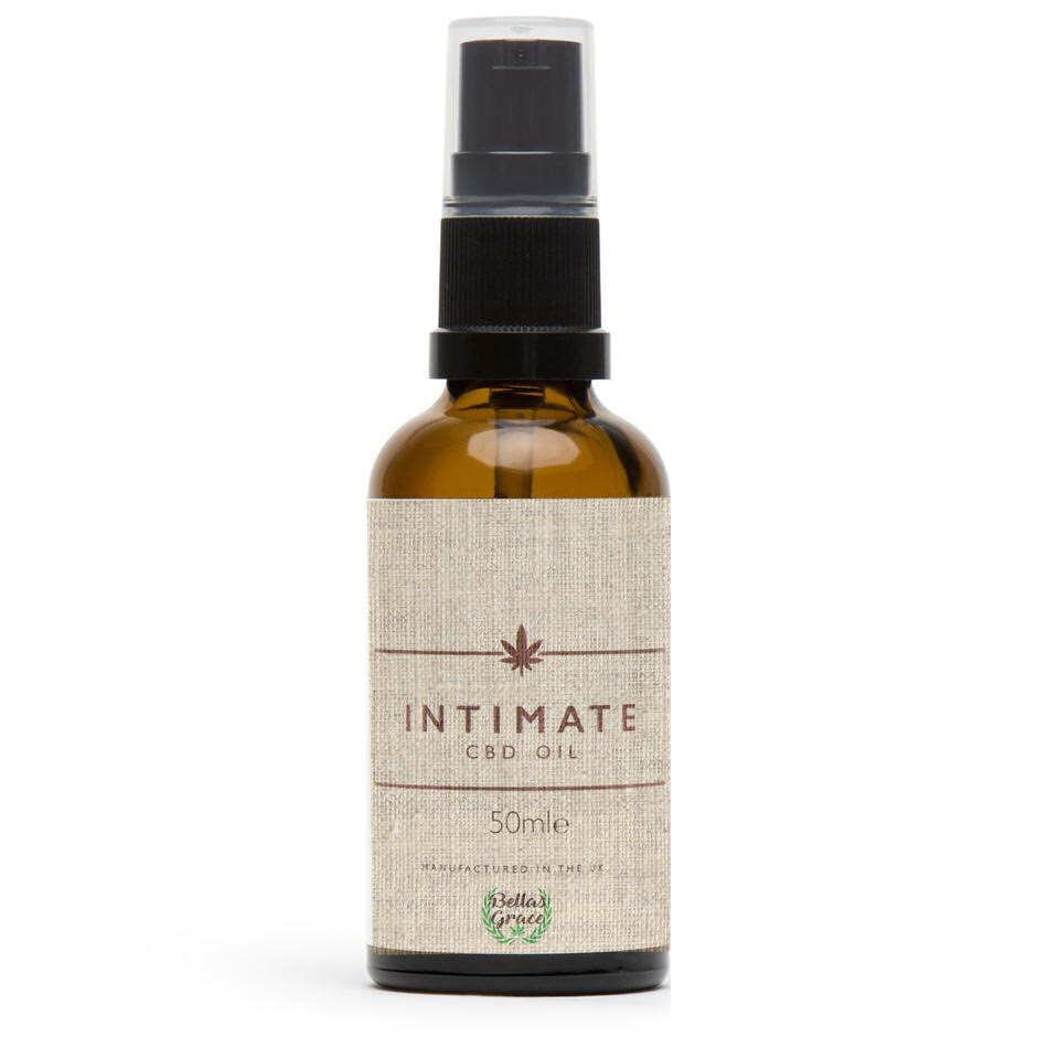 Intimate CBD Massage Oil