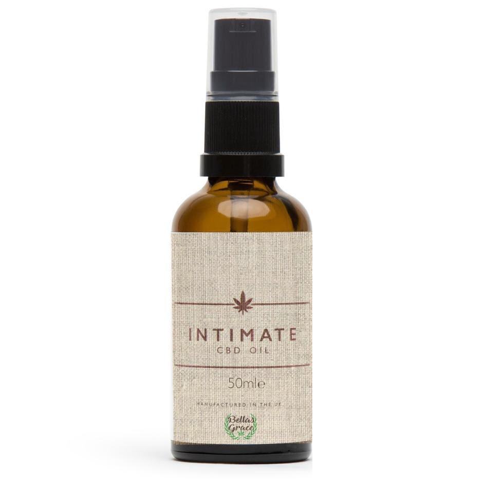 Intimate CBD Massage Oil