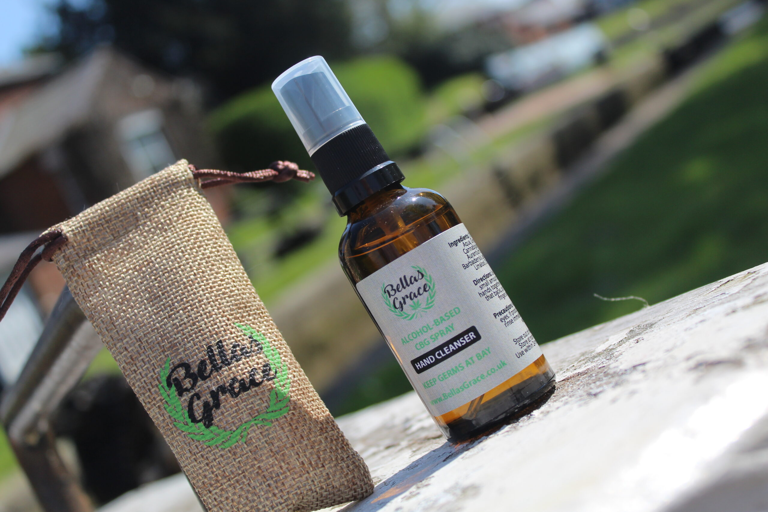 Bellas Grace CBD Hand Cleanser X 1