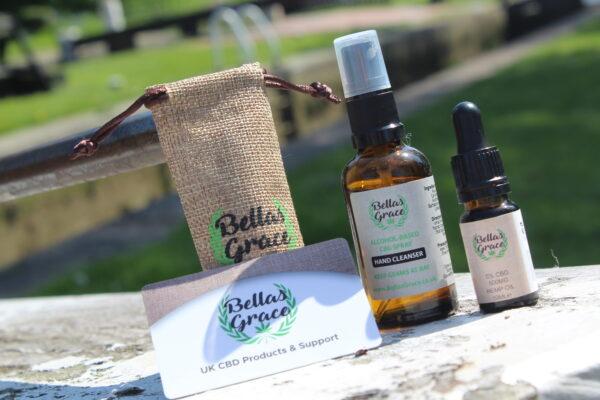 Bellas Grace CBD Hand Oil