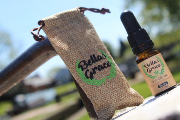 Bellas Grace CBD Oil 5% Hazelnut