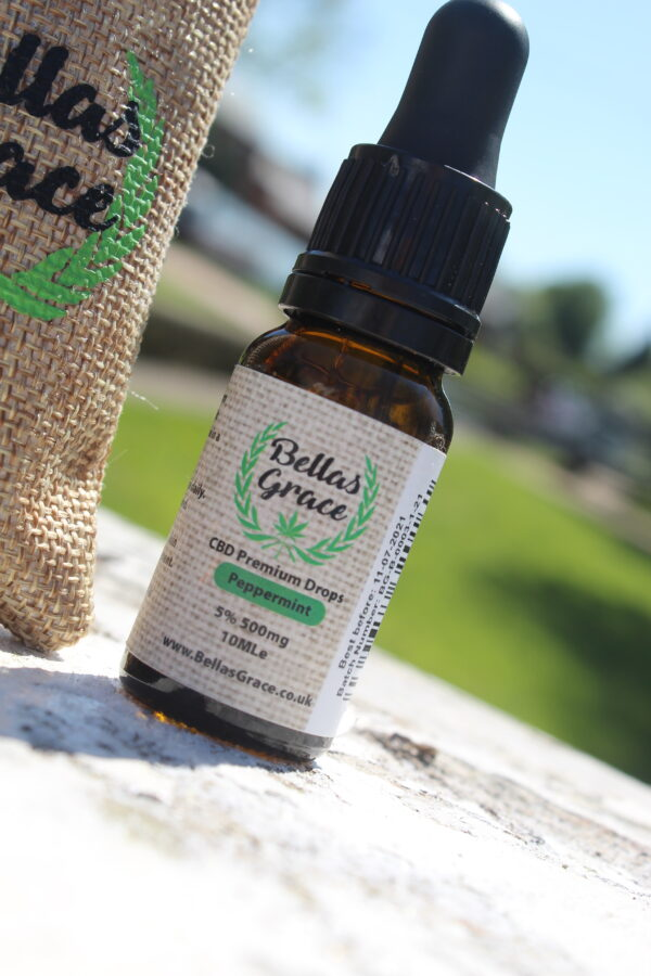 Bellas Grace CBD Oil 5% Peppermint