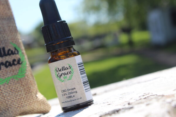 Bellas Grace CBD 2.5% Oil