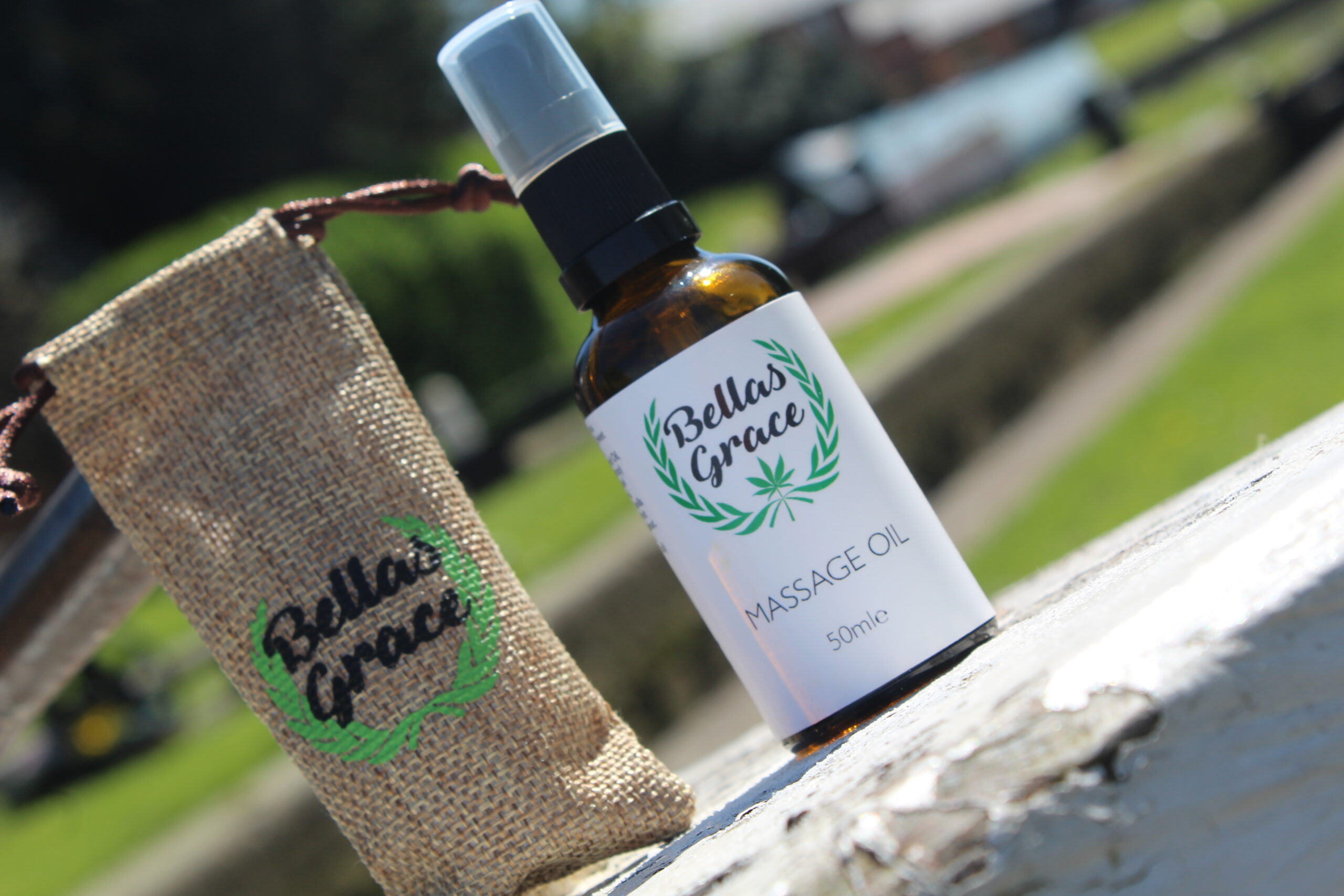 Bellas Grace CBD Massage Oil