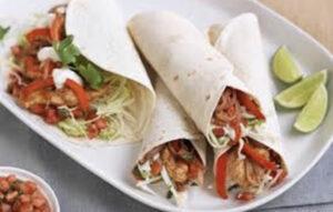Chicken Fajitas CBD & Tomato Salsa