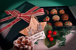 Christmas Chocolate Truffle selection