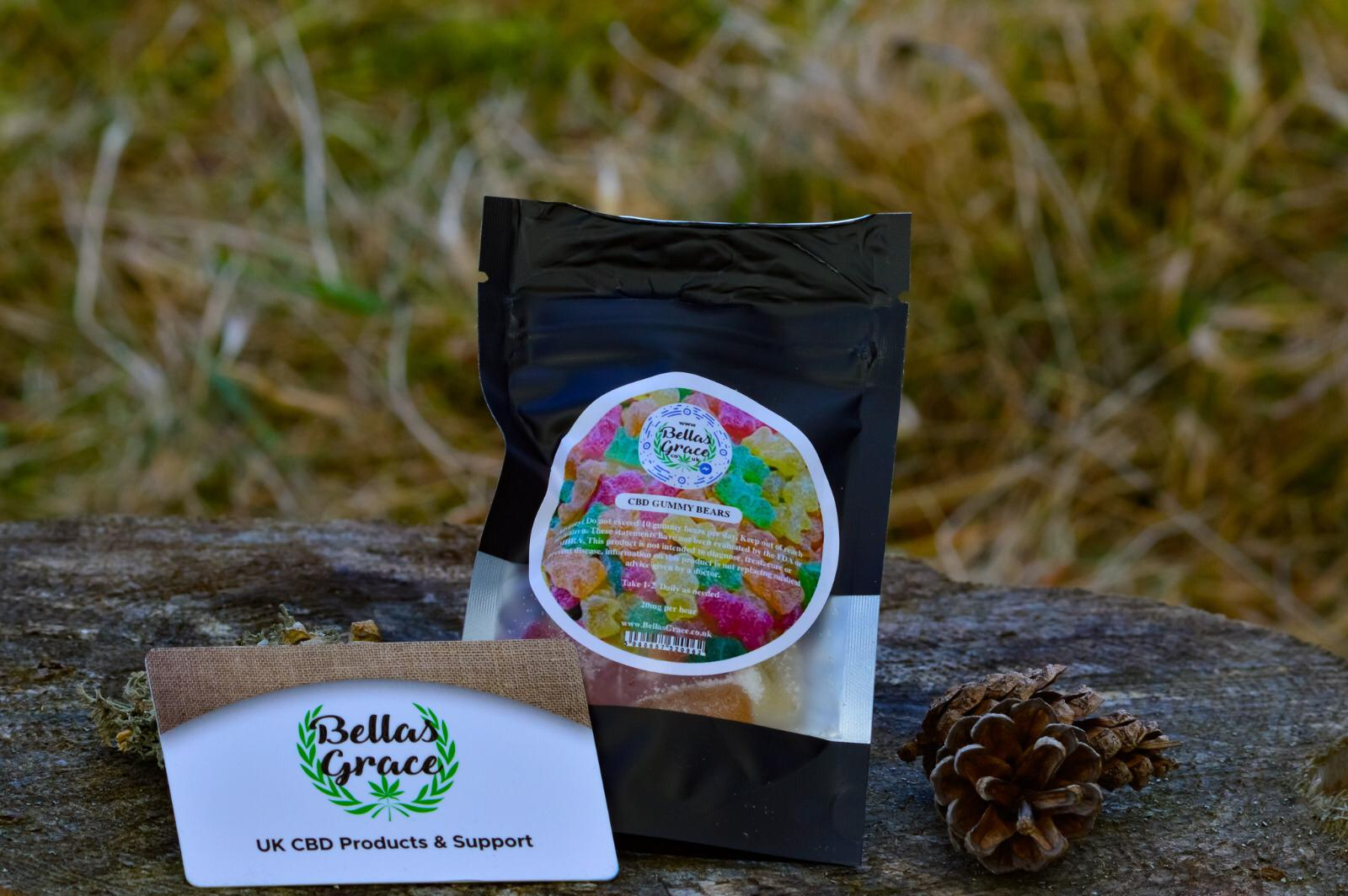 Bellas Grace CBD Gummy Bears